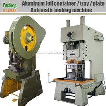 Manufacturing machinery with punching mold for Aluminum foil barbecue tray and lids