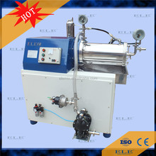 Horizontal nano paint sand mill machine