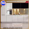2015 hotsale modern china flat pack glossy white black anti scratch rta kitchen cabinet or small kitchen