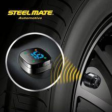 2015 Steelmate TP-76B car led Wireless DIY tpms low pressure tire gauge,tyre press sensor,digital dial test indicator