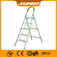 Super Household 4 Steps Aluminum Ladder