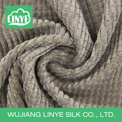 organic durable home designs soft cushion fabric, corduroy manufacturer