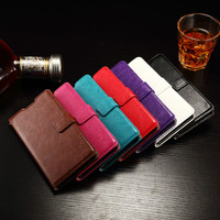 Custom Flip Leather Case For Huawei P8 Lite High Quality Photo Frame Leather Case
