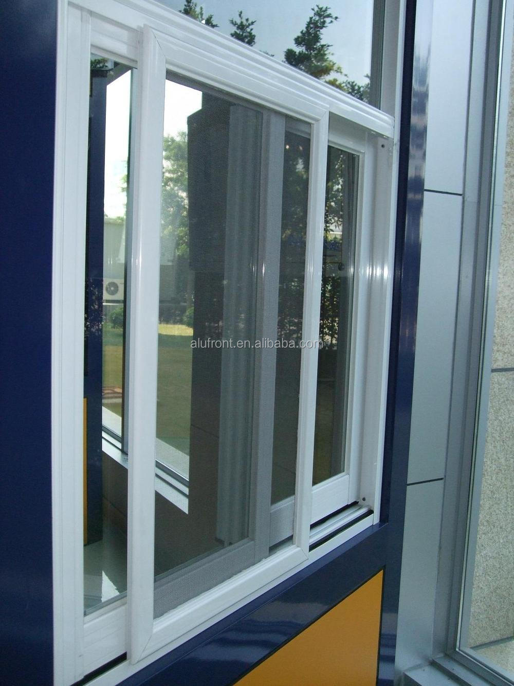 Thermal break aluminium frame sliding window with mosquito for Thermal windows prices