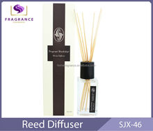 home decoration use glass fragrant reed diffuser
