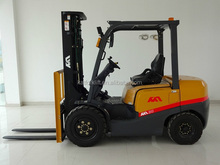 3 ton Imported KAT gasoline forklift truck ,Japanese Nissan engine , in good standing