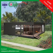 40ft 20ft sandwich panel light steel expandable container house prefab portable container house luxury