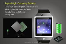 2015 dz09smart watch android smart watch phone DZ09 for IOS&Android bluetooth wrist watch dz09