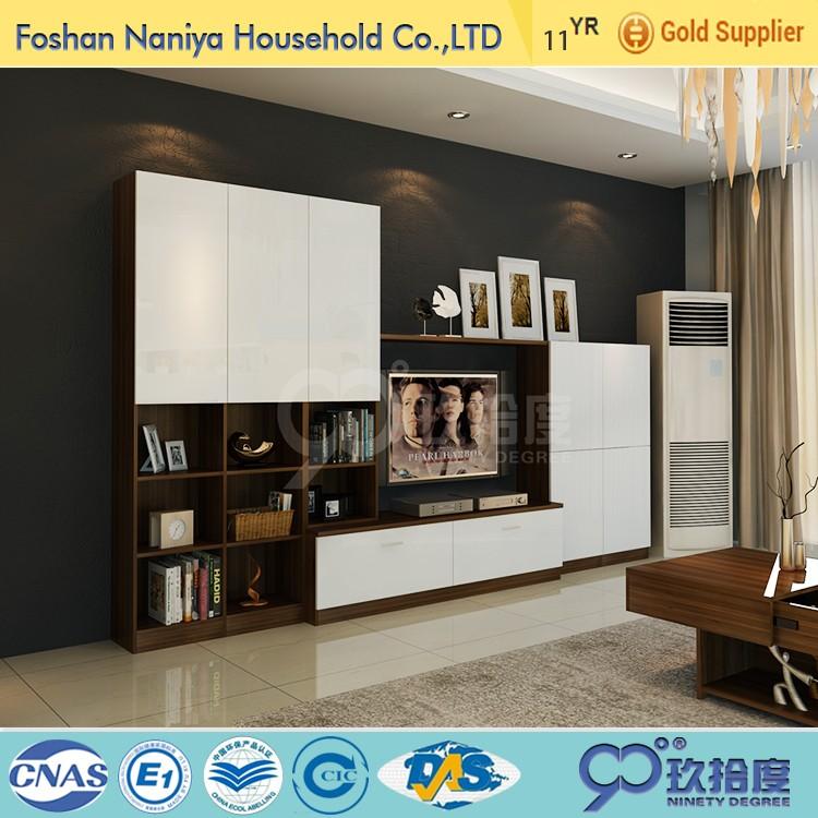 Neue modell holz lcd tv-ständer design für moderne tv-ständer ...