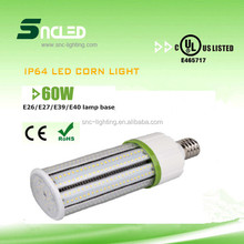 100-115lm/w led corn light,high quality UL led corn bulb for parking garage,175w replacement 60w led corn light