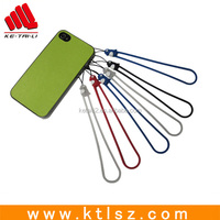 Customized Cute silicon mobile strap for promotional gift