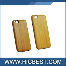Cool design bamboo cell phone case