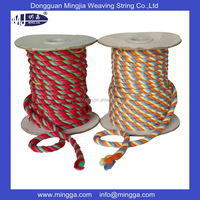 Hot sale colorful polyester braided cord