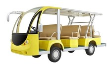 2015 New Design Falcon brand 11 seat electric sightseeing bus WX6113K