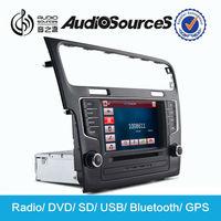 1 din autoradio gps with bluetooth /USB/SD for Volkswagen Golf 7