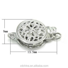 XD K015 necklace making box clasp 14k gold findings wholesale