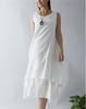 D70043H 2015 Summer literary vest harness dress cotton dress for women