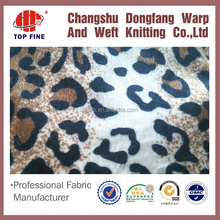 100% polyester ultra super soft imitation printed plain velour fabric