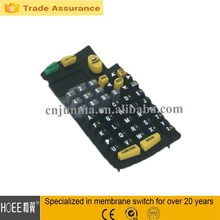 small size multi rubber buttons input keyboard
