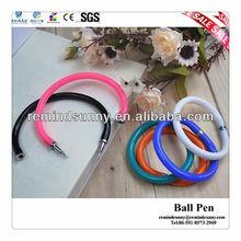 Promotion Bracelet Flexible Plastic Ball Pen