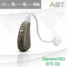 Reduced Low Power Consumption Hearing Aid Sound Amplifier BTE OE