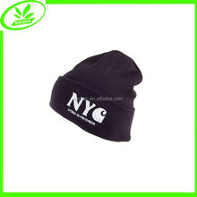 Popular embroidered acrylic winter man hat