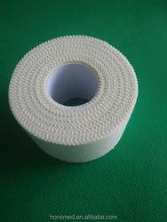 Zinc oxide tape adhesive sport tape 1.5 inch sport tape cotton,sport tape