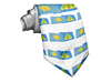 2015 silk Palau flag neckties promotion