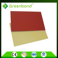 Greenbond interior garage door aluminum composite panel