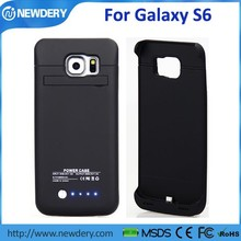 External Rechargeable Battery Charger Power case Extended Back Up Power bank for Samsung Galaxy S6