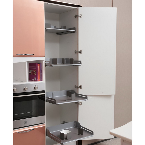 2014 oppein isla de laca gabinete de cocina modernos for Gabinetes de madera para cocina