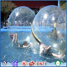2015 Whosesale price giant inflatable water ball for kids and inflatable water rolling ball