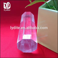 Hot popular!Clear Exquisite Acrylic Stick,acrylic rod,acrylic bar acrylic stick on the mini led lights led glowing acrylic rod