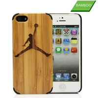 Wholesale wood mobile phone case for iphone 4, pc bamboo for wooden iphone 4s case