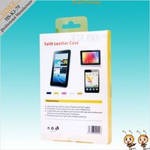 hanging packaging box for ipad case for retail