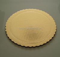 Food grade 6mm double wall corrugated cake board circle