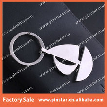 China Manufacturer Popular Promotional Gifts Sailing Boat Keychain Sailing Vessel Hot sale Metal Key Chain