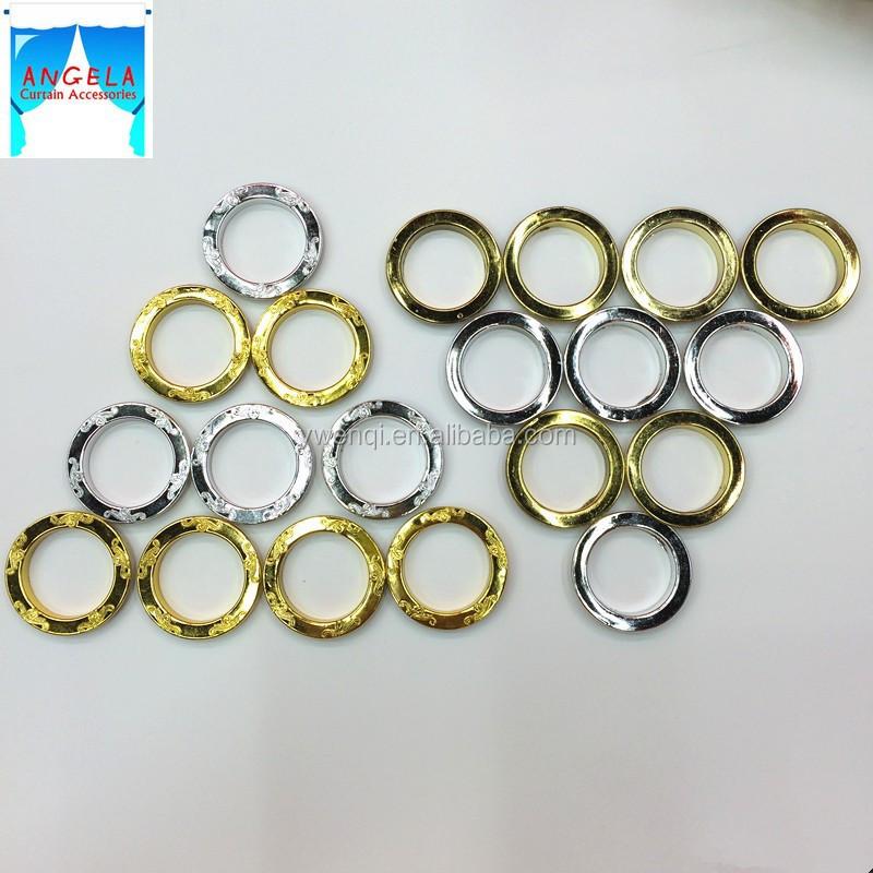 Curtain Diameter - Buy Curtain Tape Eyelet Rings,Metal Color Curtain ...