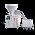 Procesamiento salchicha que hace la máquina, máquina de encuadernación salchicha