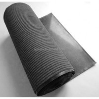polyester surface and pvc floor mat roll