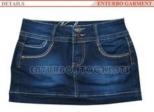 New Style Stocklot Kids Denim Panama Skirt