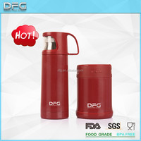 Double wall stainless steel vacuum flask ,soup container