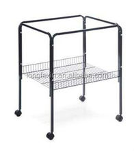 Pet Products Bird Cage Stand for Base Cages, Black
