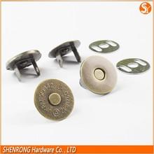 Venta al por mayor 18 mm imán ultra-delgada botón