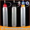 30ml PE BV and FDA pen unicorn dropper bottle , e-liquid long bottle, metal needle bottle