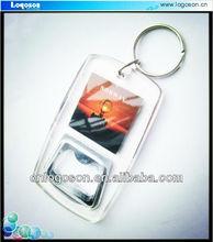 Custom plastic beer bottle opener for promotional gift