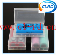 Portable 18650 battery storage box plastic battery case box holder storage container pack 2*18650 or 4*18350 CR123A 16340 batter