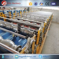 Botou hot sale product metal roofing tiles and walls roll forming machine for Canton Fair