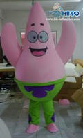 Patrick Star Cartoon Mascot Costume