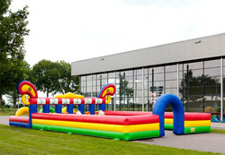 the best selling inflatable Derby horse racing, inflatable horse racing game